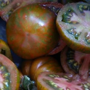 Tomato - Black Zebra - 50 Seeds - Heirloom Cultivar
