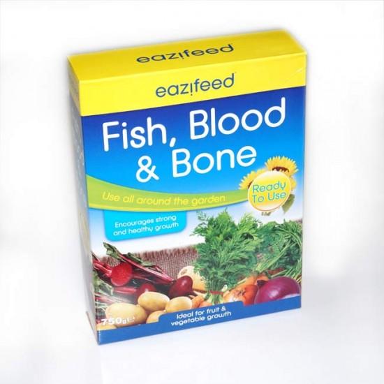 Eazifeed Fish Blood and Bone - 750g - Organic Based Multipurpose Fertiliser