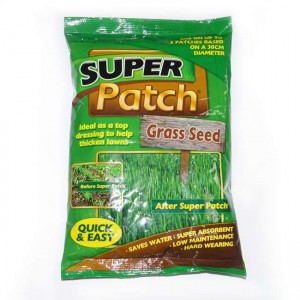 Super Patch Grass Lawn Seed with Fertiliser / Feed 200g Packs