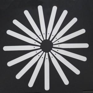"""Plastic White Plant Labels  - 400 Labels - 10 cm / 4"""""""